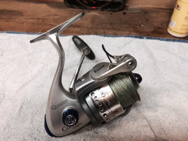 Used quantum cabo spinning reels for sale general buy for Used fishing reels for sale