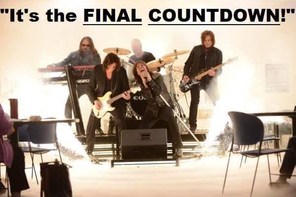 Скачать песню its a final countdown