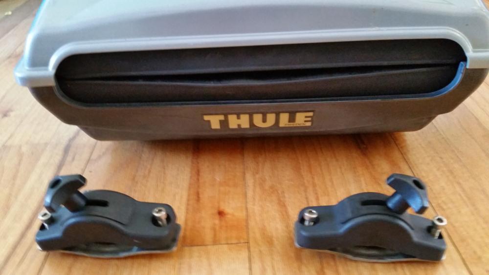 Thule 885 castaway fishing rod rack general buy sell for Thule fishing rod holder