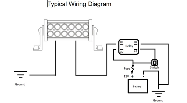 how to wire 12 volt lights diagram how image 12 volt led light wiring diagram 12 auto wiring diagram schematic on how to wire 12