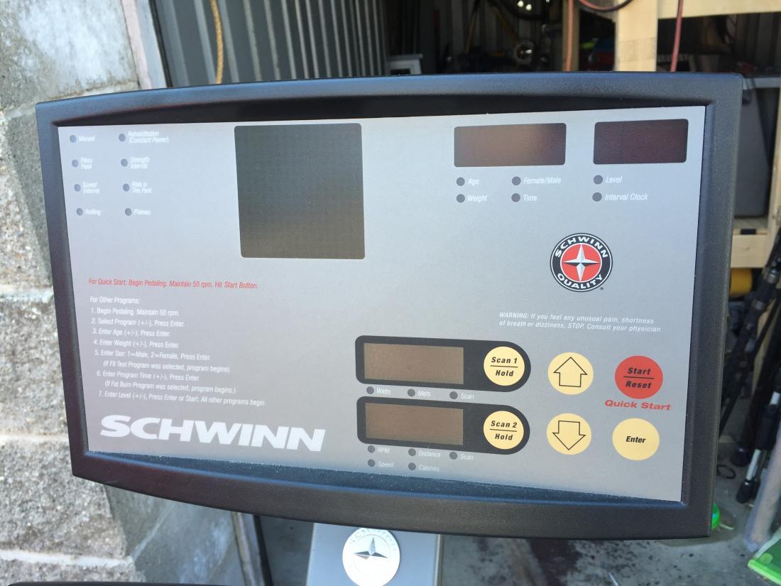 Wts Schwinn 920i Exercise Bike General Buy Sell Trade Forum