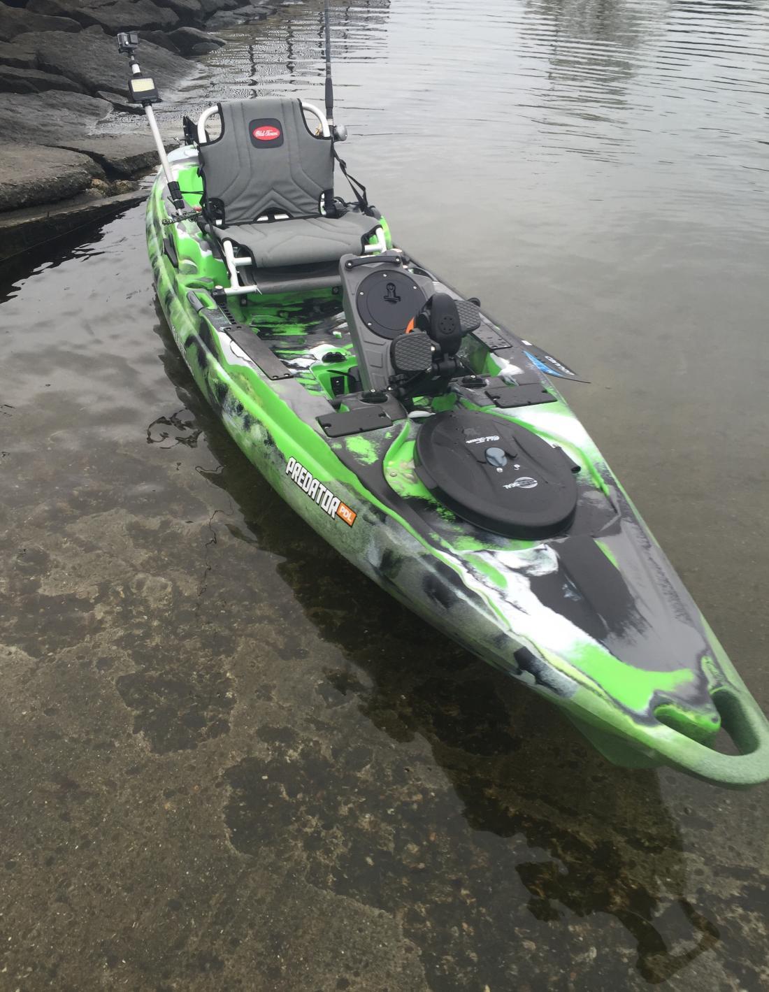 2017 old town predator pdl review kayaking and kayak for 2017 fishing kayaks