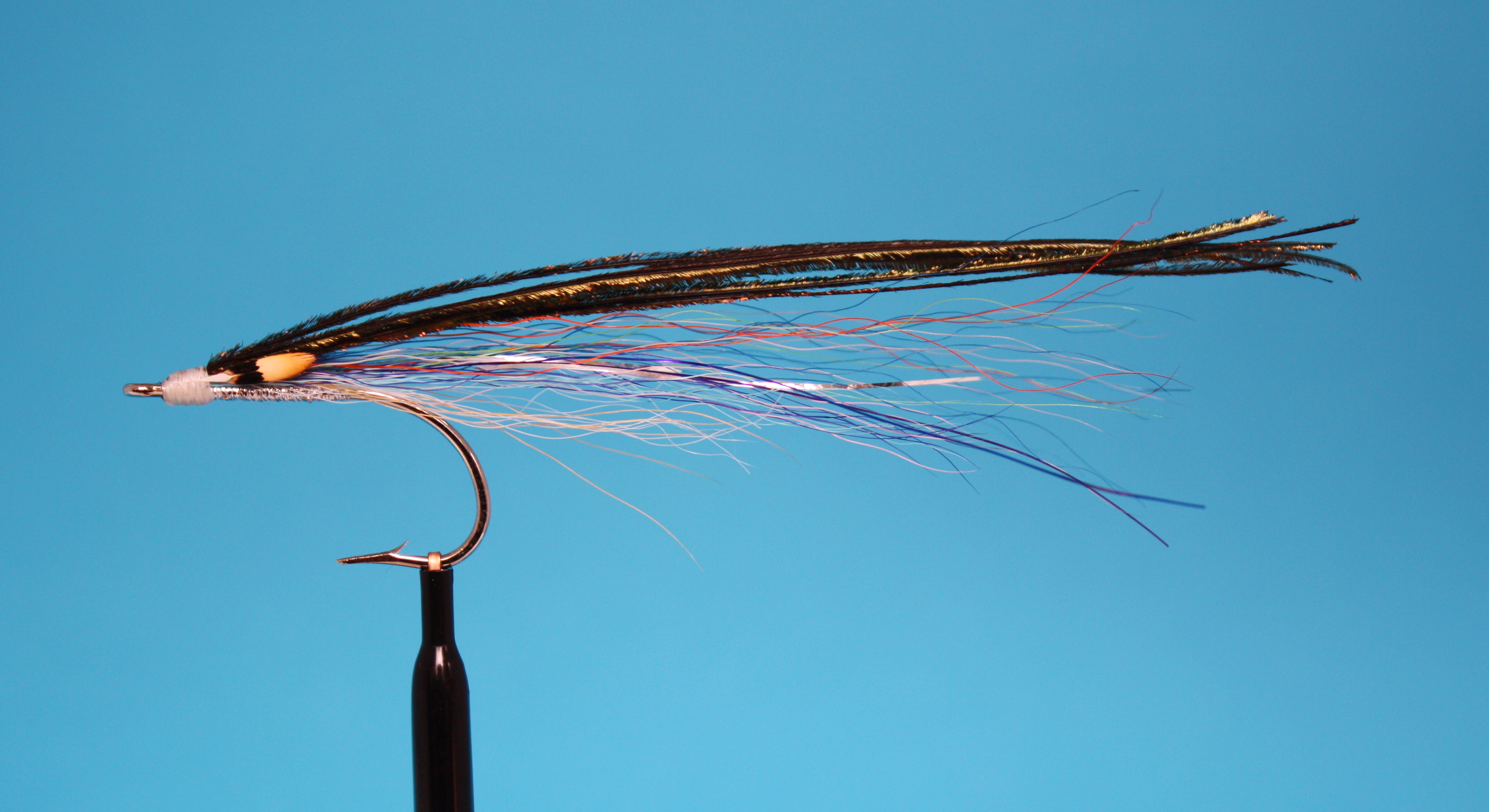 RLS Herr Blue bucktail tied by Steve Culton for striped bass