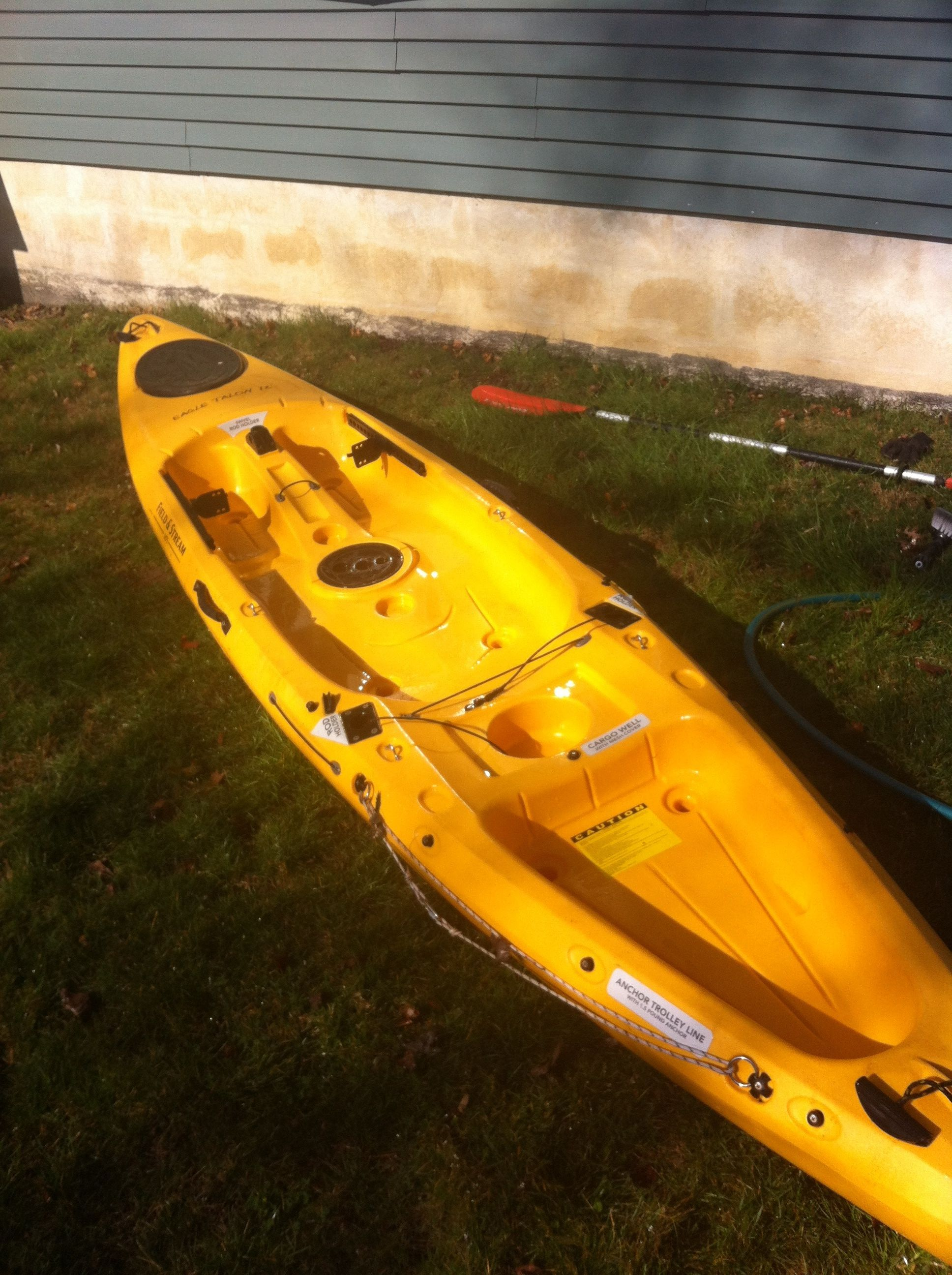 Lets see your setups page 17 kayaking and kayak for Field and stream fishing kayak