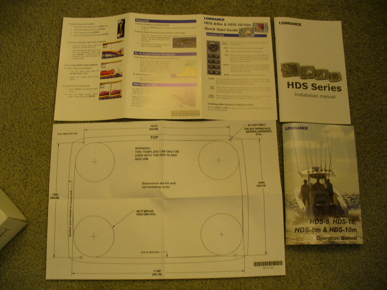 Wts Lowrance Items Some New Used General Buy Sell Trade Hds 8 Wiring Diagram 1000