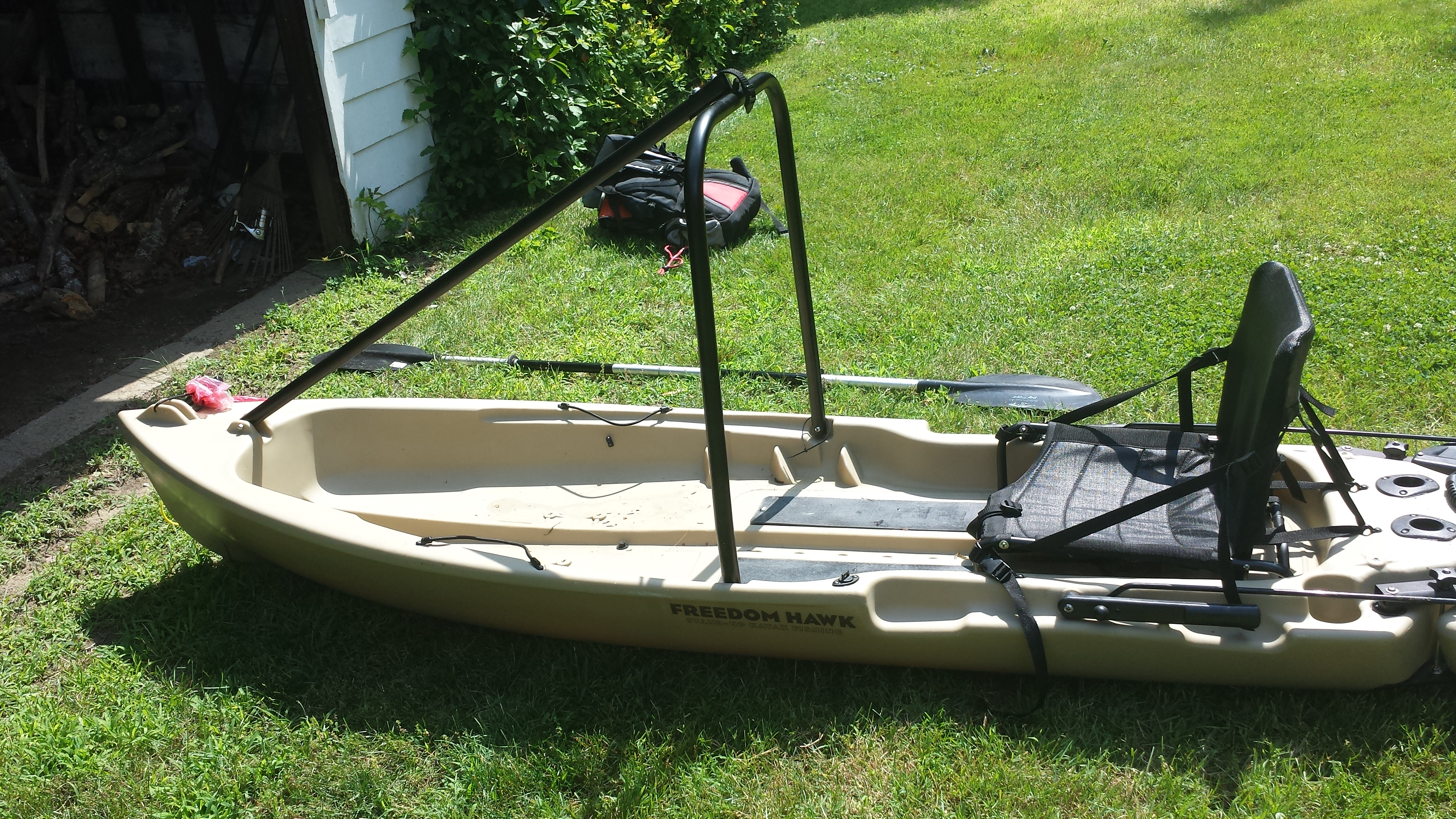 Freedom hawk 12 fishing kayak for sale kayaking and for Fishing kayak sale