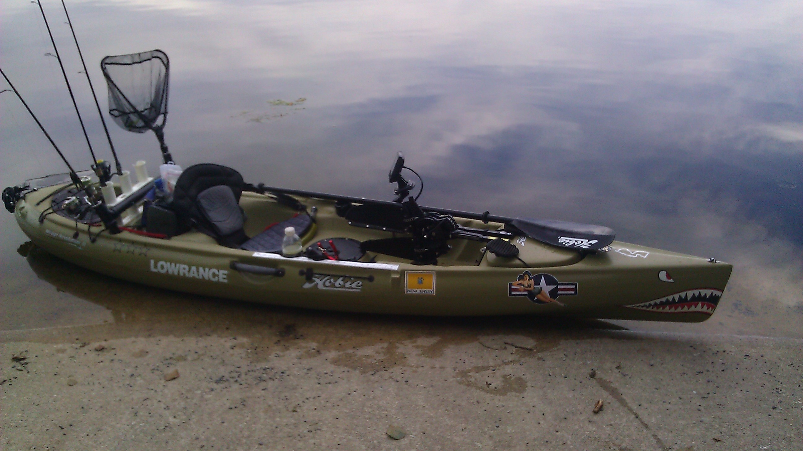 Best fish finder solution for a kayak page 2 for Fish finders for kayaks