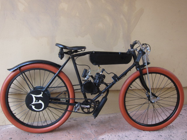 Board Track Racer Replica Build