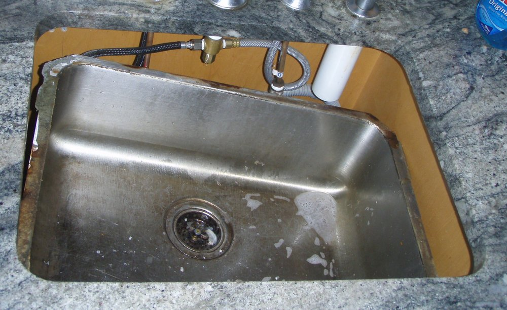 Soab My Kitchen Sink Collapsed Came