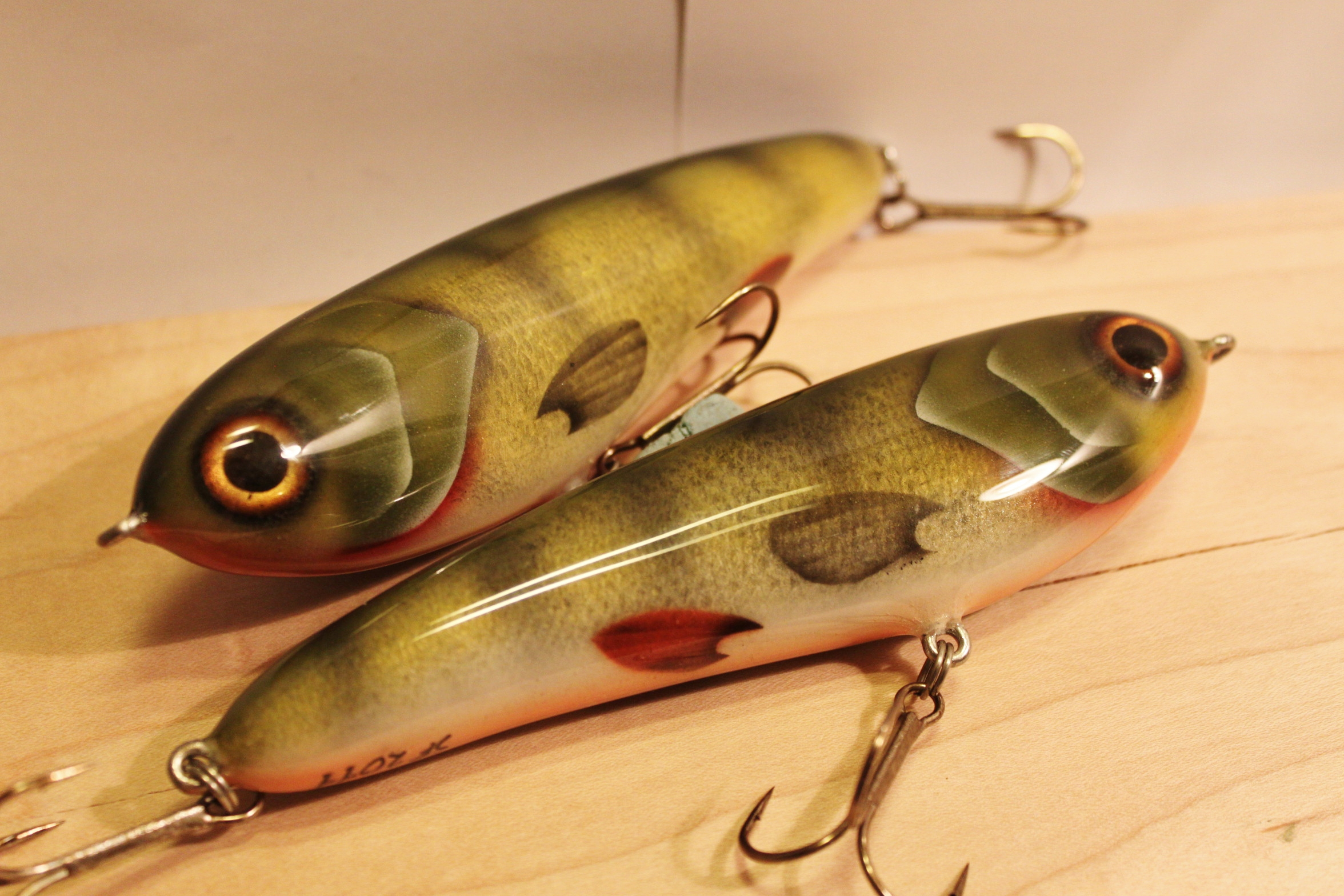 Best lure on zander. Homemade lure on pikeperch 53