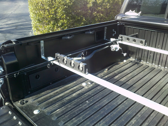 Berkley rod rack 4 x berkley twist lock horizontal for Fishing rod holder for truck cap