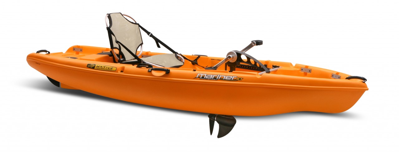 2 person fishing kayak with pedals