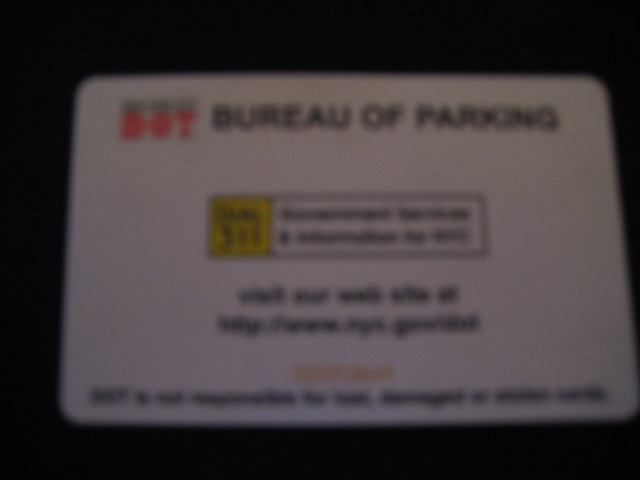 Motorists Parking New York City Cards Nyc Are Pre Paid That Can Be At All On Street Meters And
