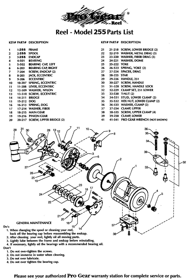 Reel schematics liry - Page 3 - Reel Maintenance and ... on