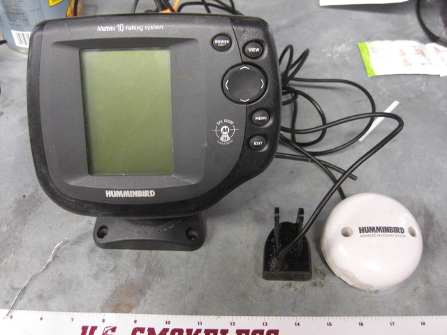 Humminbird 525 fishfinder for sale for Fish finder for sale