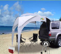 525 & do they make a shade canopy that attaches to the tailgate/bed of a ...