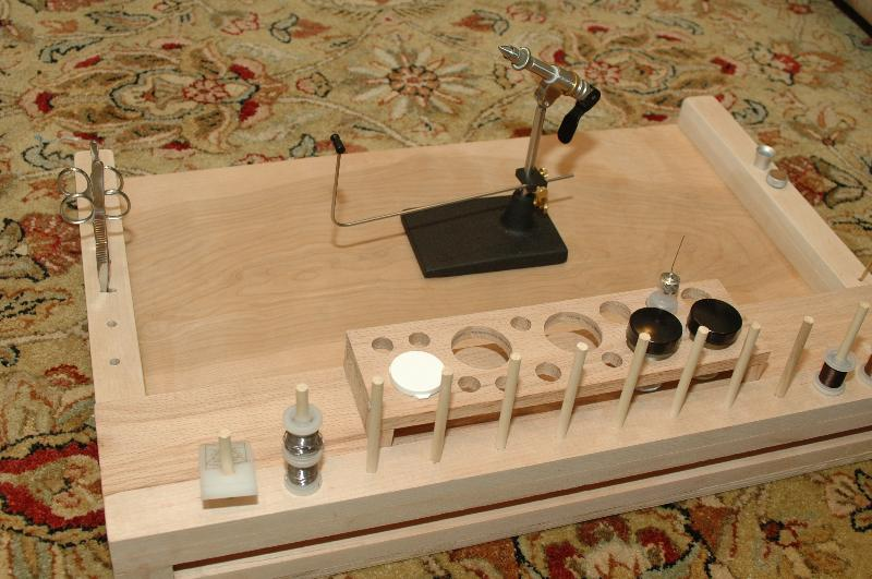 DIY: Fly Tying Bench from the new guy - Fly Tying Forum - SurfTalk