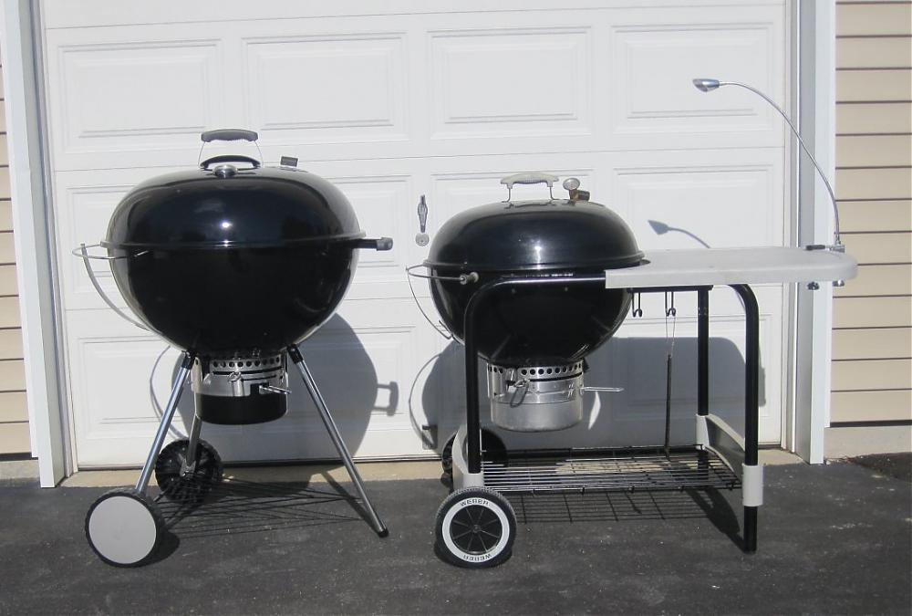 Weber 26 Inch Kettle Size Compare To My 22