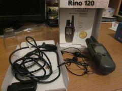 Garmin Rhino 120 GPS and 2-way radio