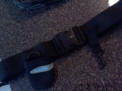 aquaskinz belt, porkrind holder, and extra belt clip