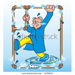 stock-vector-trying-to-fix-a-leaking-pipe-11789812.jpg