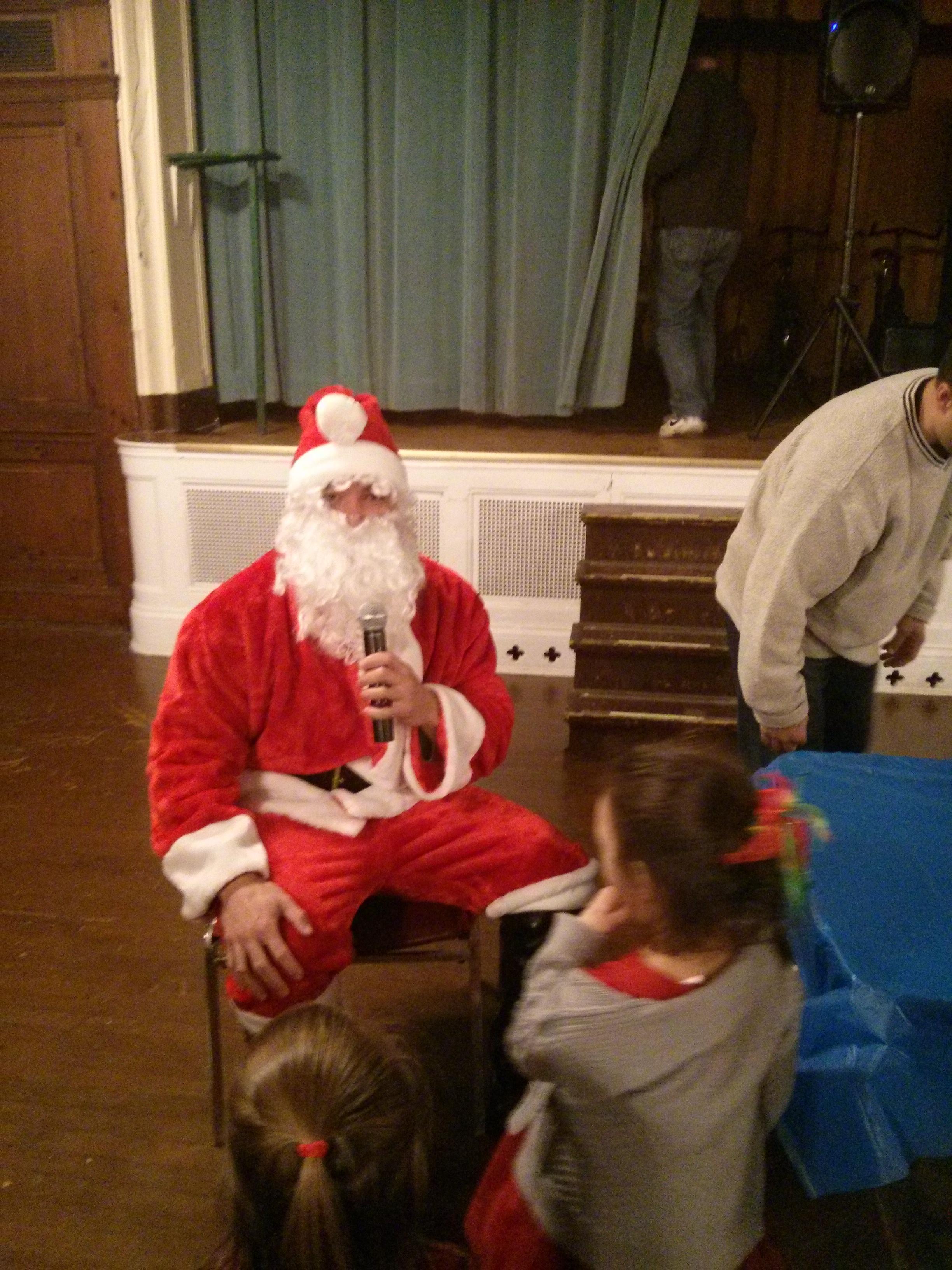 Played Santa