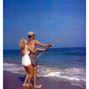 Marilyn Monroe + bathing suit + 1956 Long Island + Arthur Miller.jpg