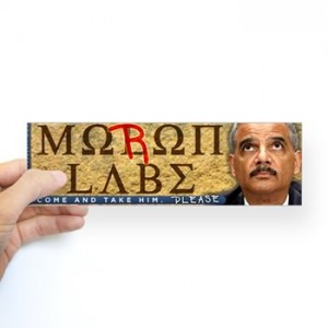 moron_labe_holder_bumper_sticker.jpg?color=White&height=350&width=350