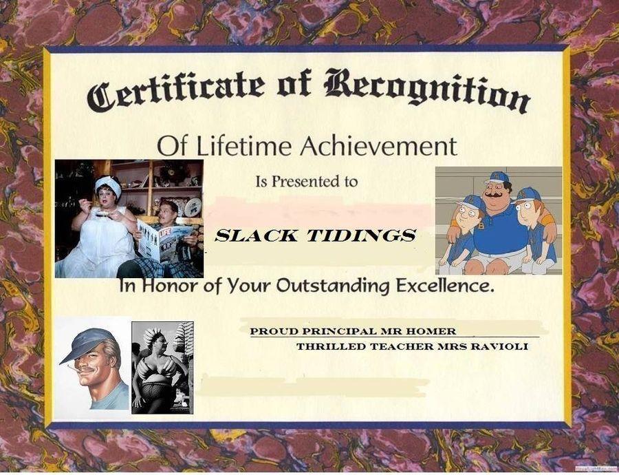 Slack Tiding Lifetime