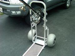 Aluminum Fishing Cart for Sale  (Local pickup)