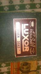 Luxor Seven Seas Reel with paperwork & box