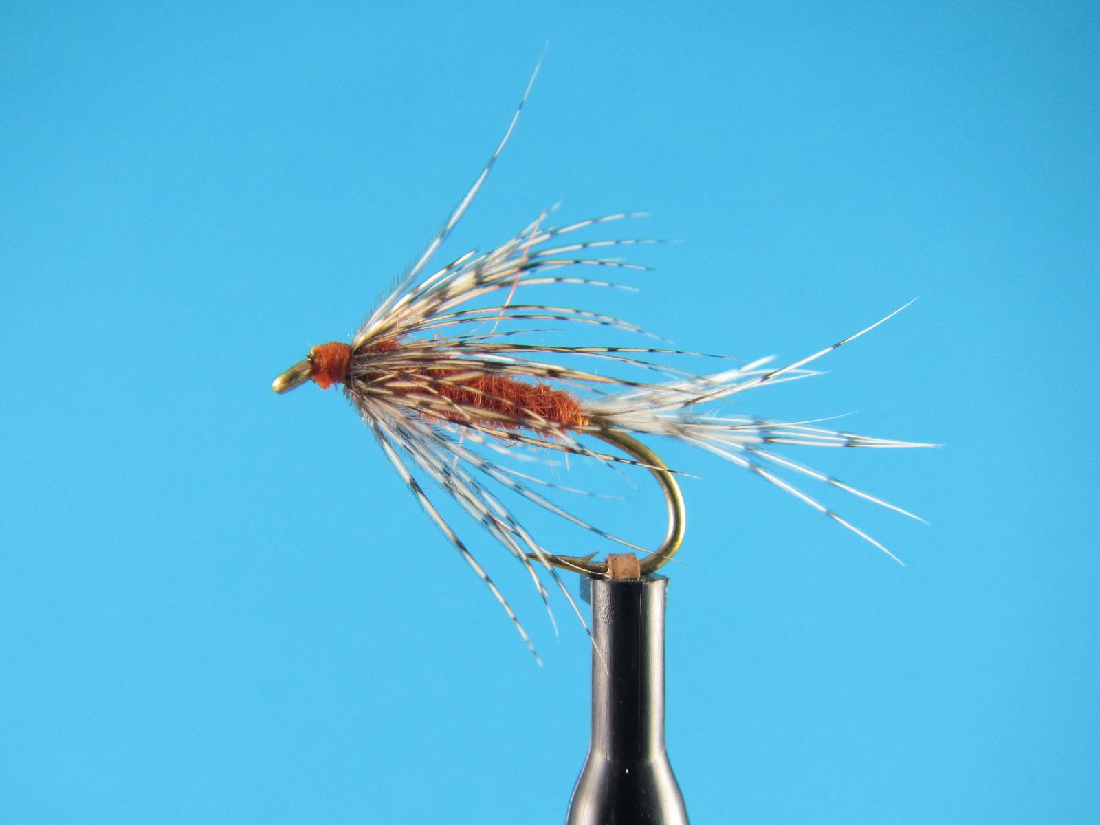 Steve Culton Winged March Brown wet fly soft-hackle
