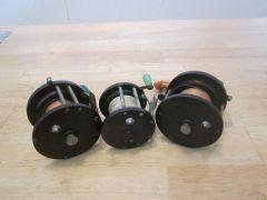 3 Collectable Penn Vintage Reels
