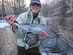 Steve Culton Salmon River Pulaski steelhead