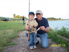 Grandson back of Great Kills Harbor S.I.N.Y