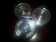 Orvis #4 LA reel with spools