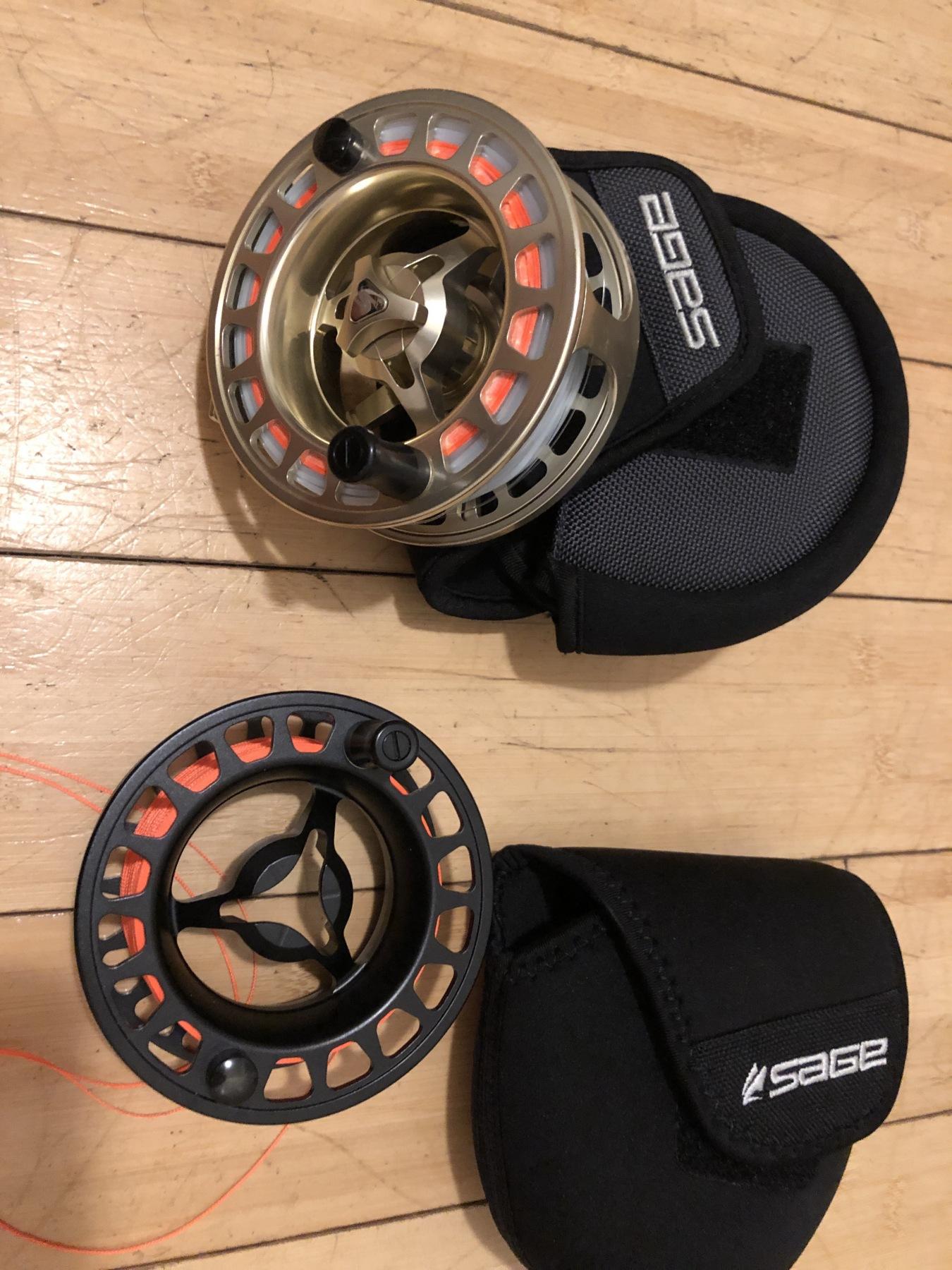 Sage 6010 reel + spool