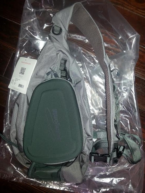 Patagonia stealth Atom sling pack F/S - Fly Fishing BST Forum - SurfTalk