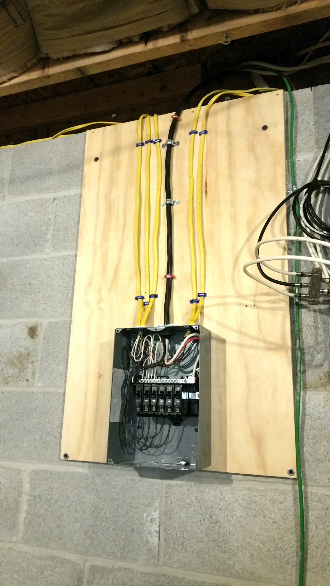Subpanel In Unfinished Basement Garage Do It Yourself Surftalk Diy Wiring A Post 70104 0 86543500 1477917819