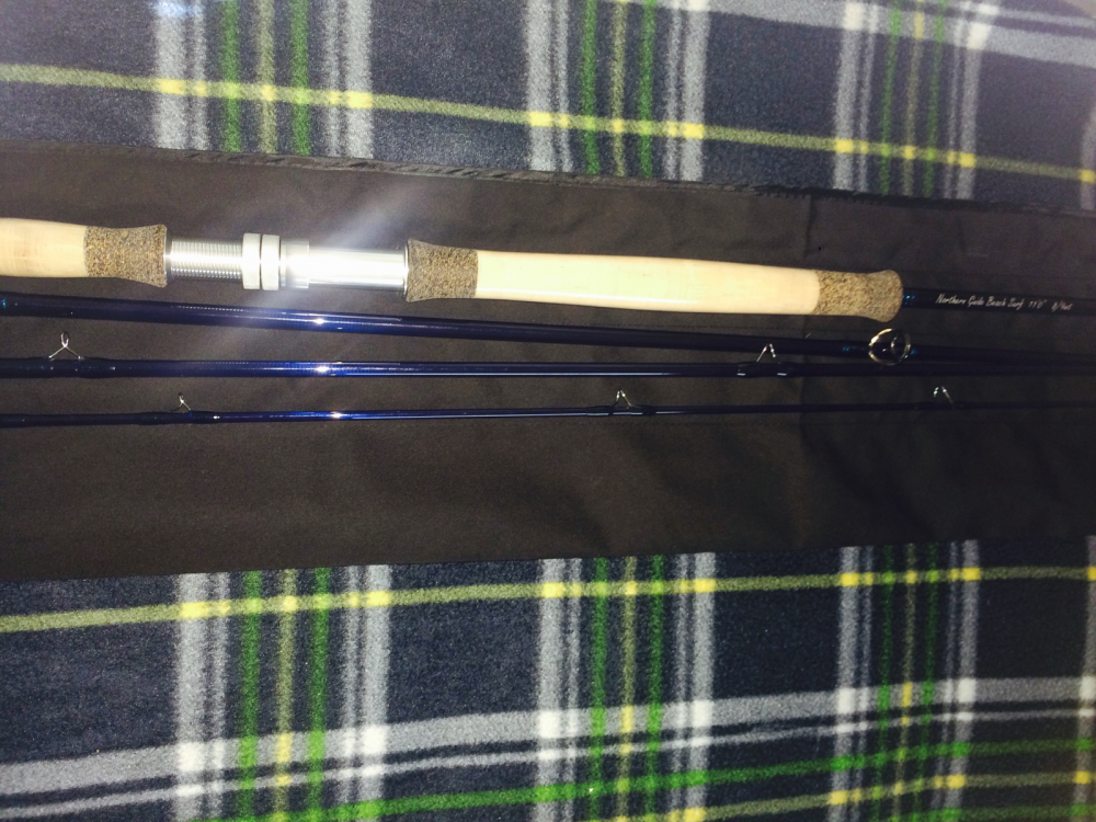 Northern guide two hander surf rods fly fishing bst forum surftalk.