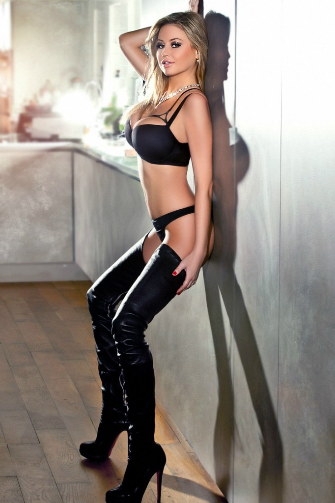 Hot girl in boots