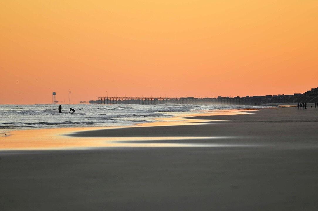 Sunset - Surf City Pier.JPG
