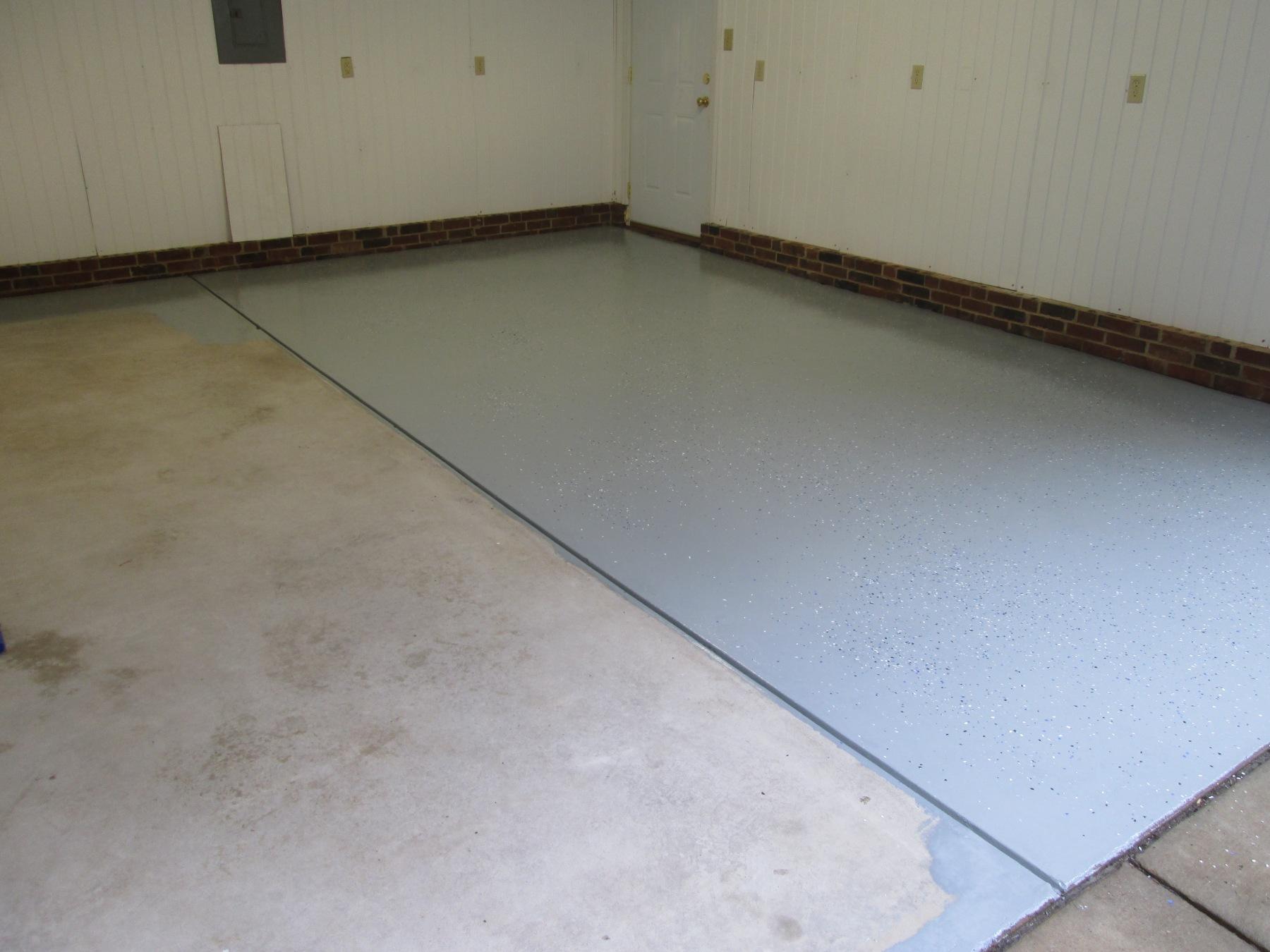 Garage Floor Coating Epoxy Or Polyurethane Do It