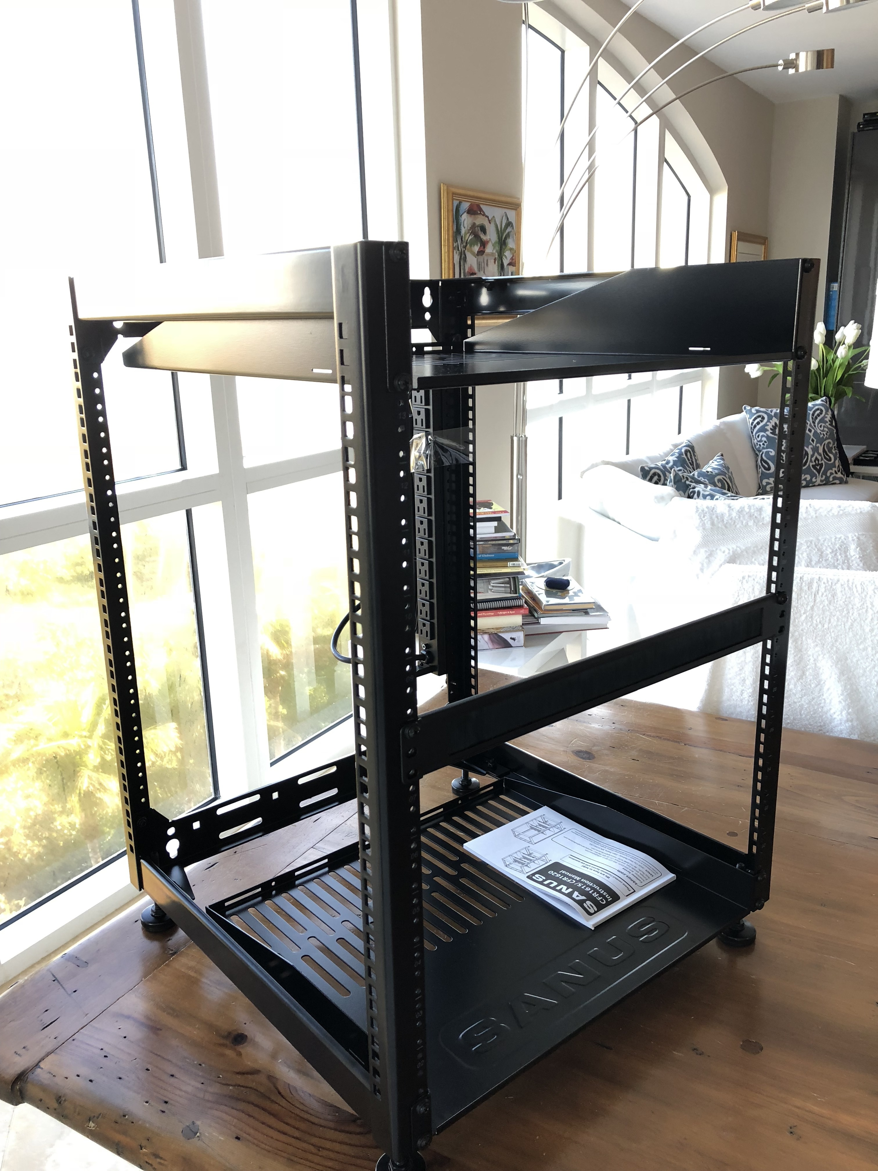 DIY Server/Electronics Rack Using Ikea Cabinets
