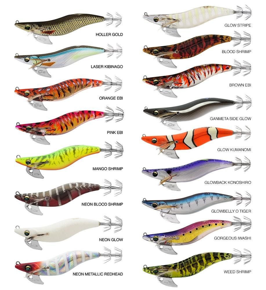 Yo-Zuri A1703 Squid Jig Ultra Cloth SSS Lure | TackleDirect |Best Squid Jigs