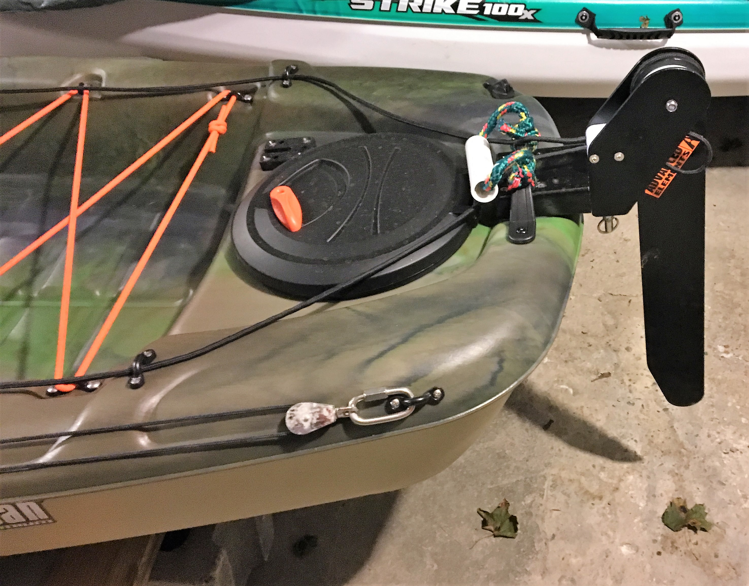 Pelican Catch 120 - Fully Rigged - Kayak and Boat Stuff