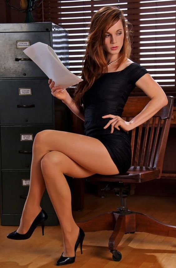 In nylon sekretärin Die Nylon