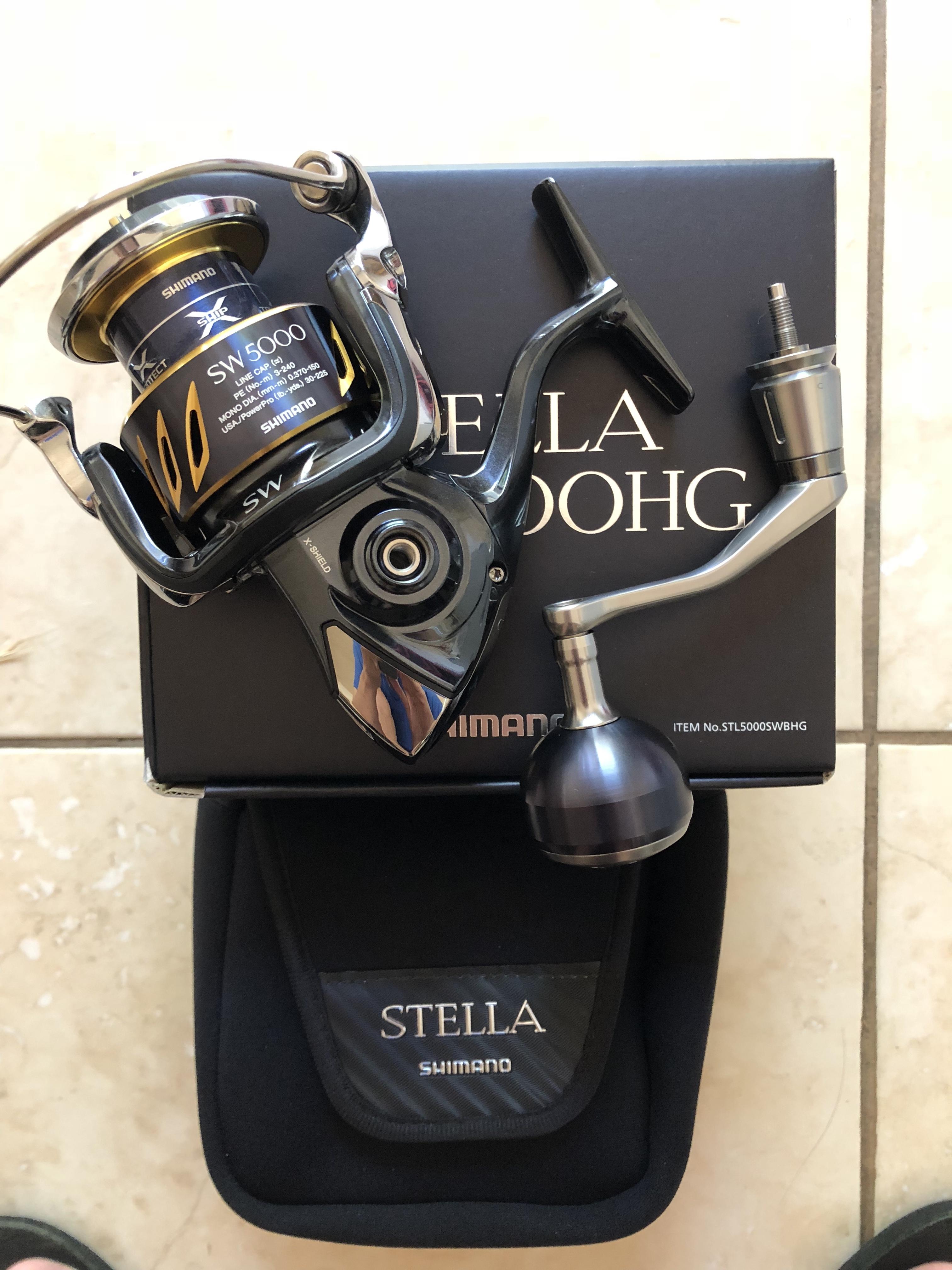 2018 Shimano Stella FJ 5000XG - General Buy/Sell/Trade Forum