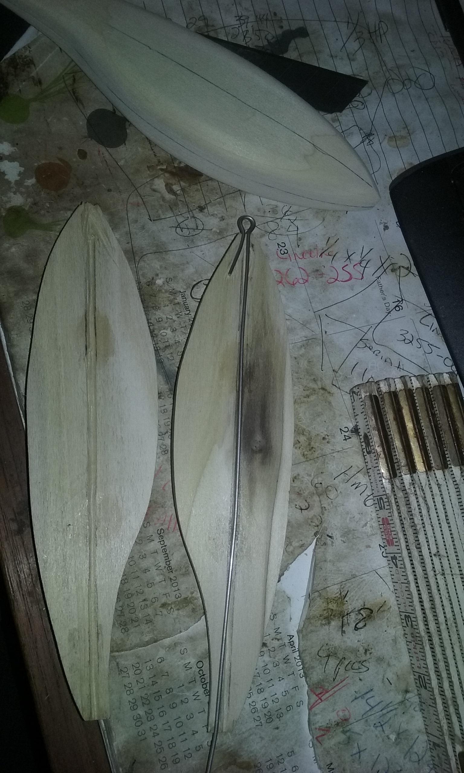 carved glide bait - Lure Building - SurfTalk