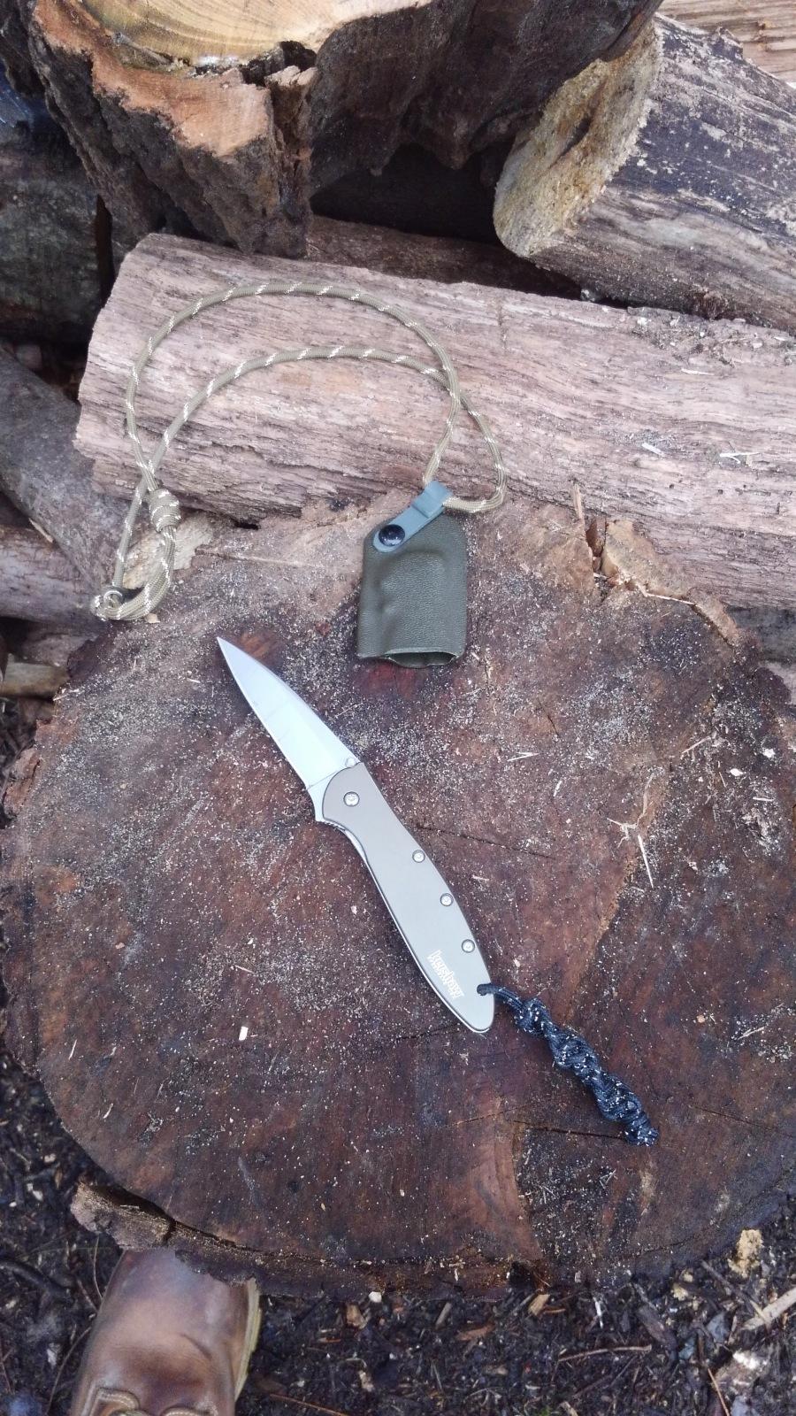 Kershaw leek neck knife.JPG
